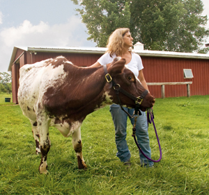 Rebecca Pelfrey convinced her husband to buy land and become independent farmers. (Laurie Schneider Photography)